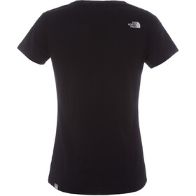 The North Face Simple Dome T-shirt Femme, tnf black/tnf white